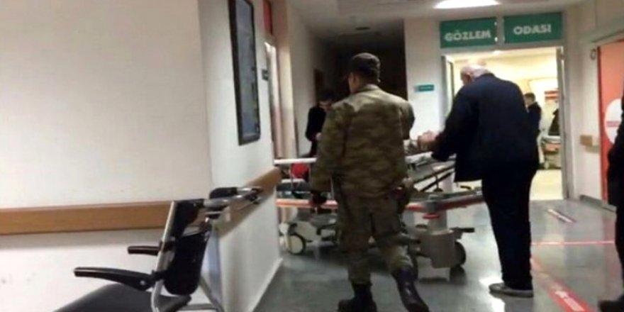 Toplanma merkezine saldırı: 5 ÖSO'lu ve iki askerimiz yaralı!