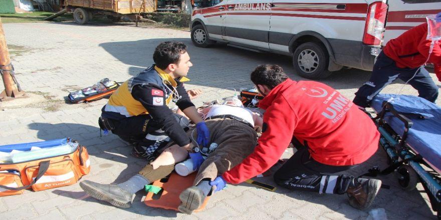 Bolu'da zincirleme trafik kazası: 3 yaralı