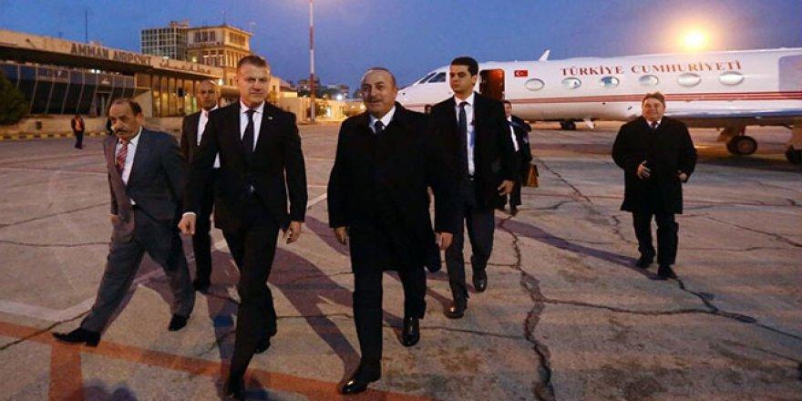 Çavuşoğlu, Amman'da