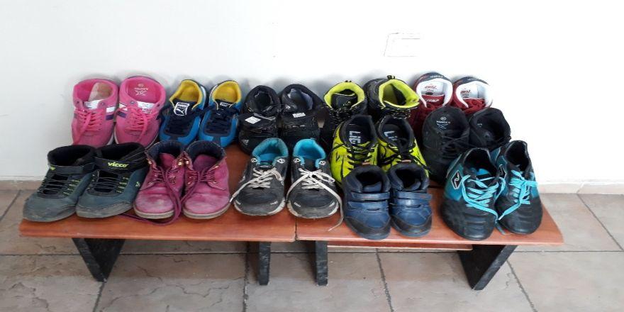 Ayakkabı hırsızları yakalandı