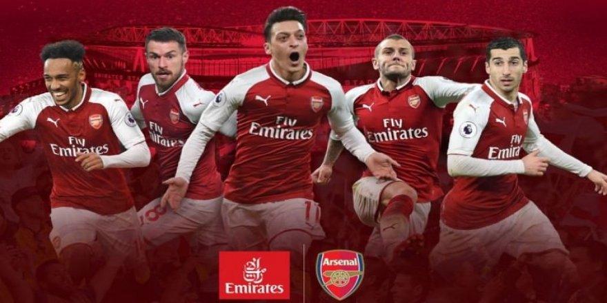 Arsenal, rekor bir sözleşmeye imza attı