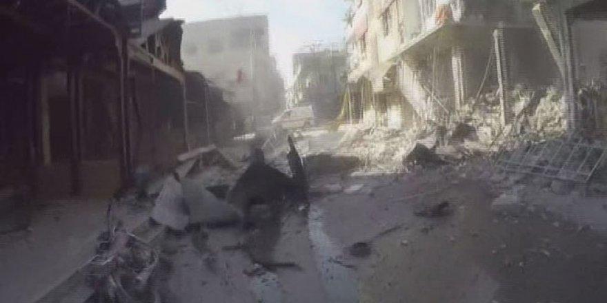 Doğu Guta'da hava saldırısı: 61 ölü, 400 yaralı