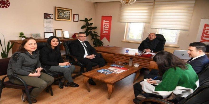 Kayseri OSB Dış Ticaret Merkezi firma ziyaretlerinde bulundu