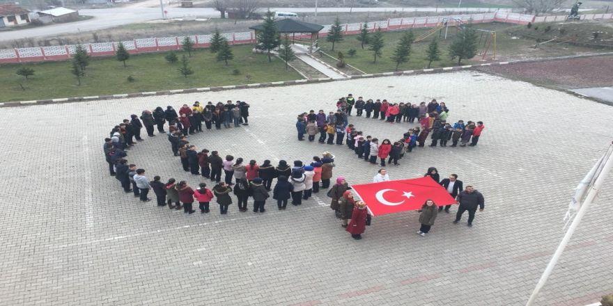 Mehmetçik için dua