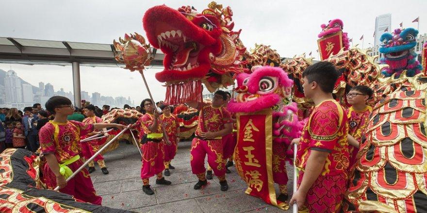 Çin'de kutlamalar devam ediyor