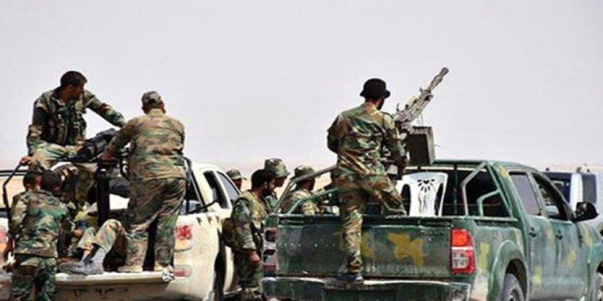 Esad güçleri Afrin'e ilerlemeye başladı!