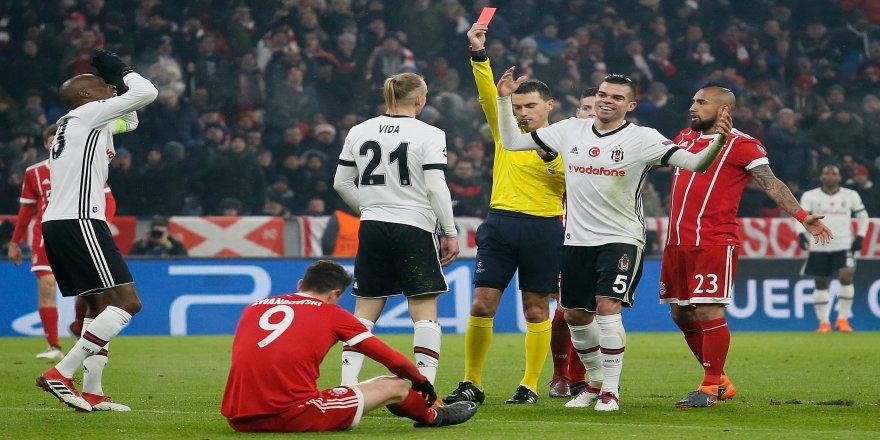 Beşiktaş Münih'te ağır yaralı !