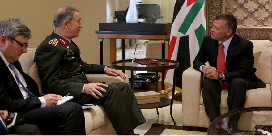 Akar, Ürdün Kralı II. Abdullah ile görüştü
