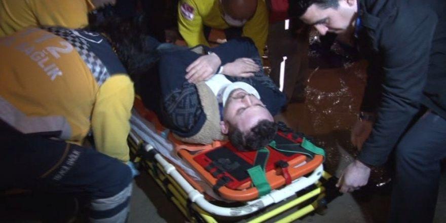 Personel servisi devrildi: 3 yaralı