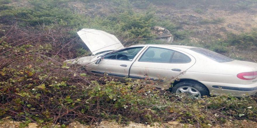 Yoğun sis ve trafik kazası: 1 ölü, 2 yaralı