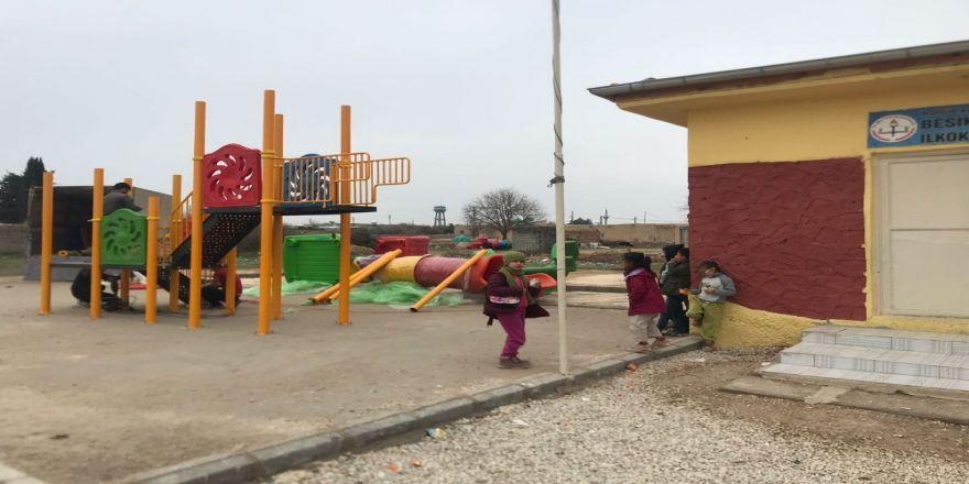 Köy çocukları parka kavuştu