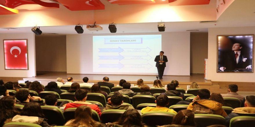 Öğrencilere yeni sınav sistemi anlatıldı
