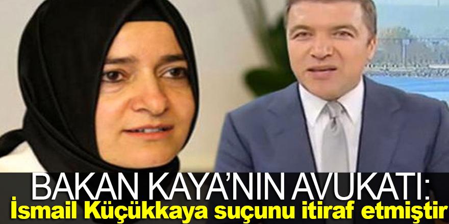 Bakan Kaya'nın avukatı konuştu !