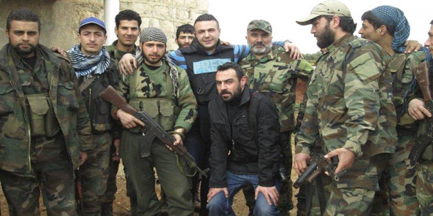 O muhabir, Esad yanlısıymış !