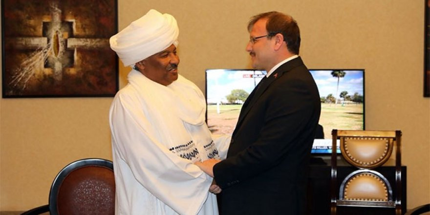Çavuşoğlu, Sudanlı bakanlarla görüştü