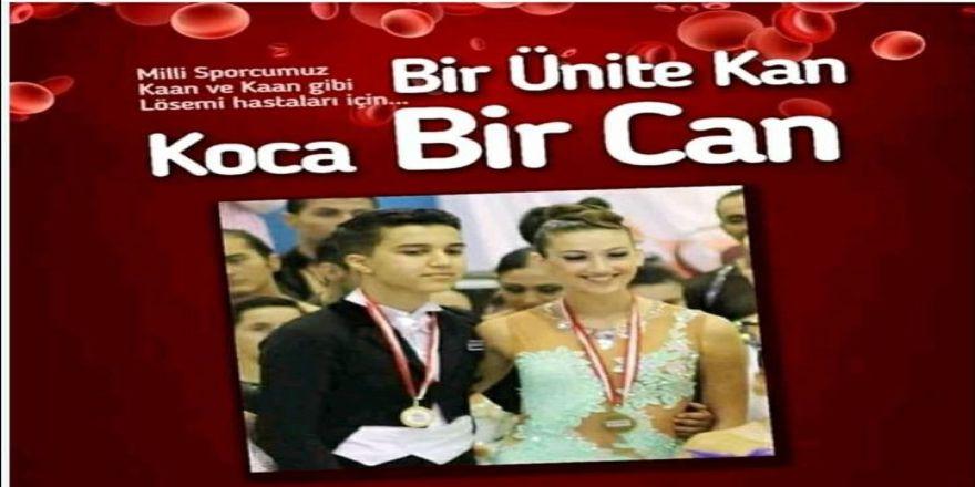 Milli dansçı için kan bağışı yapılacak