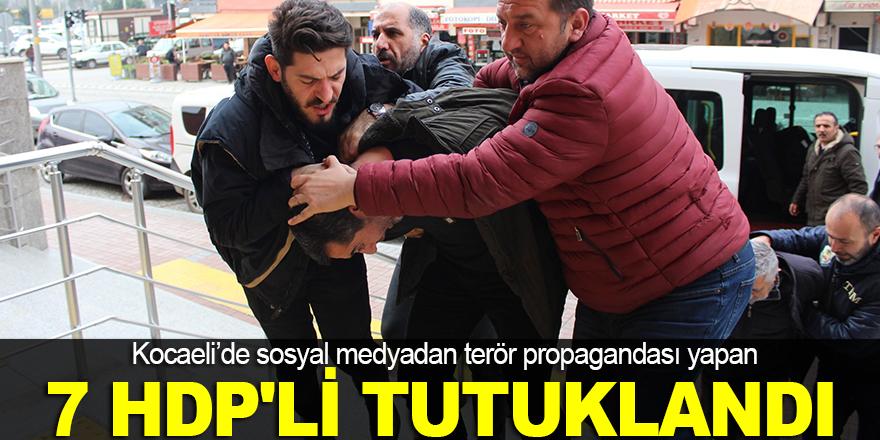 7 HDP'li yönetici tutuklandı