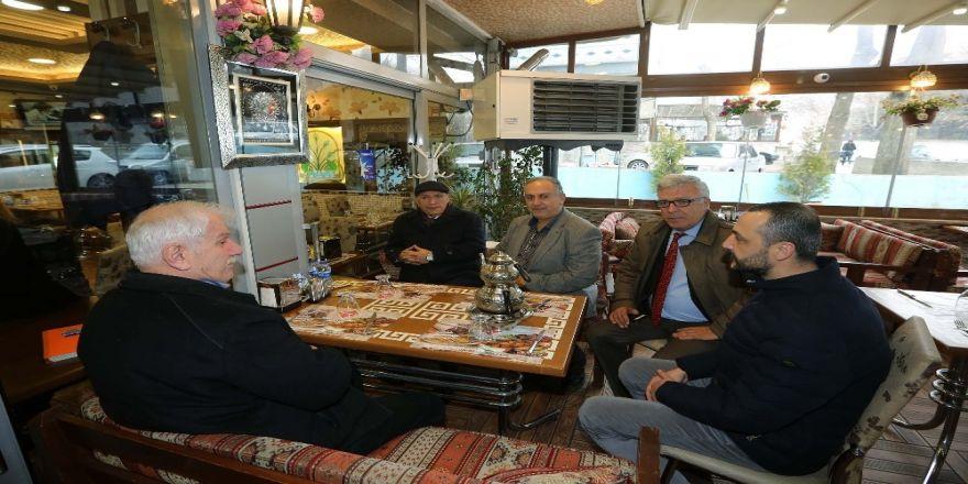 Başkan Yaşar'dan karış karış Yenimahalle turu