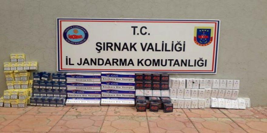 3 bin 350 paket kaçak sigara ele geçirildi