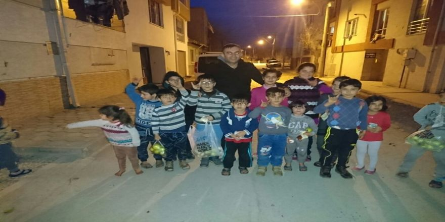 Türkmen ailelere yardımlar devam ediyor