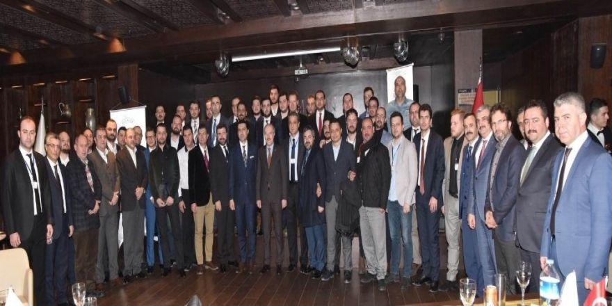 Başkan Kafaoğlu, genç iş adamlarının konuğu oldu