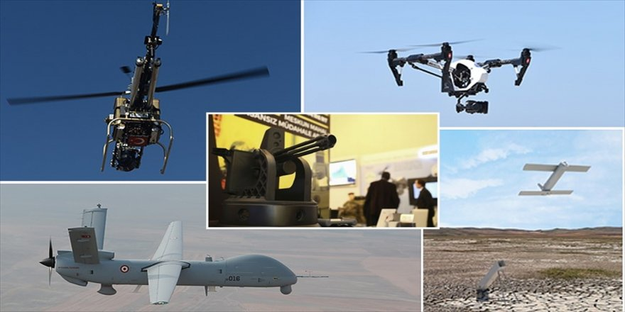 Türkiye insansız sistemlerle güçlenecek