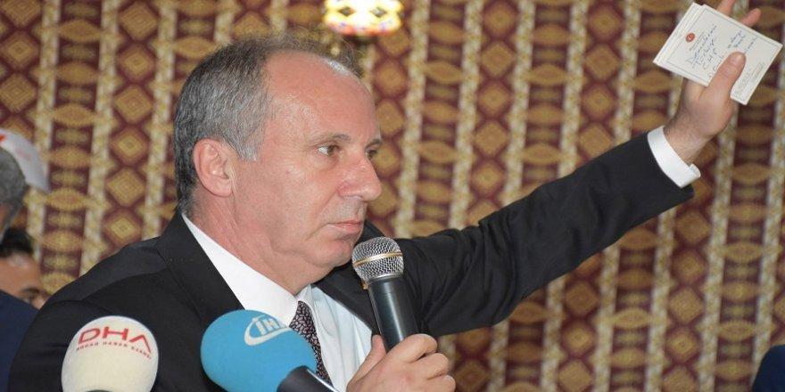 İnce'den parti genel başkanlarına istifa önerisi