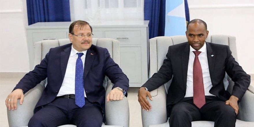 Çavuşoğlu, Somali Başbakanı ile görüştü