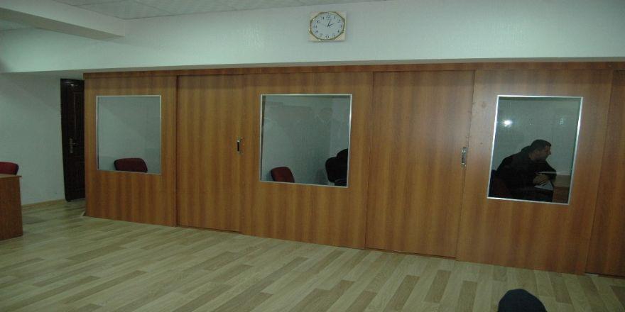 Cezaevi'ndeki avukat görüşme odaları yenilendi