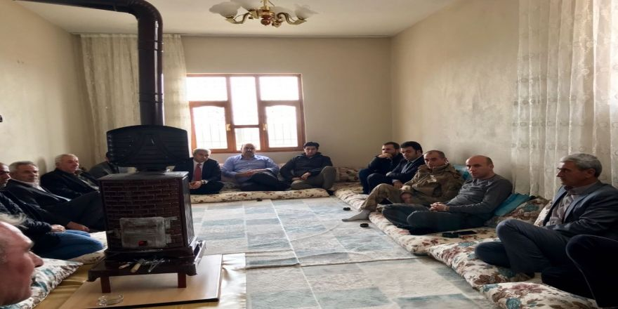 Başkan Dülgeroğlu vatandaşlarla bir araya geldi