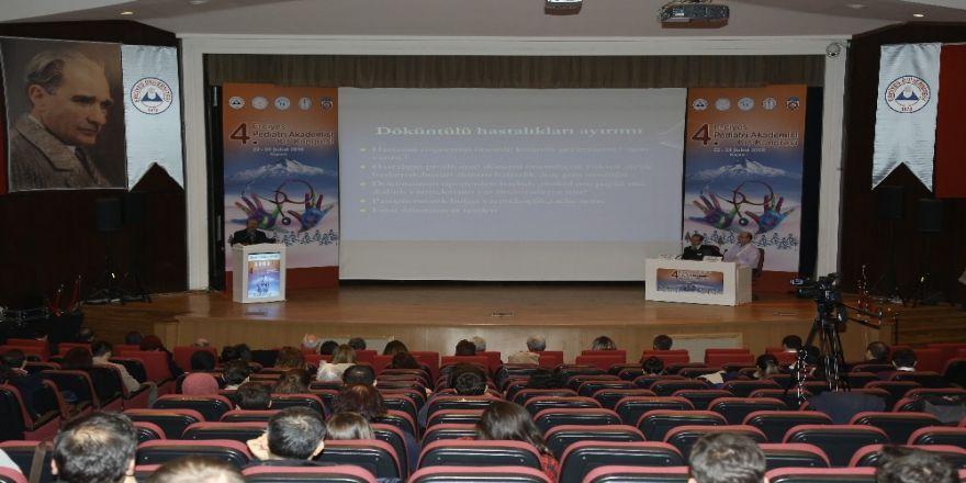 4. Erciyes pediatri akademisi kış kongresi gerçekleştirildi
