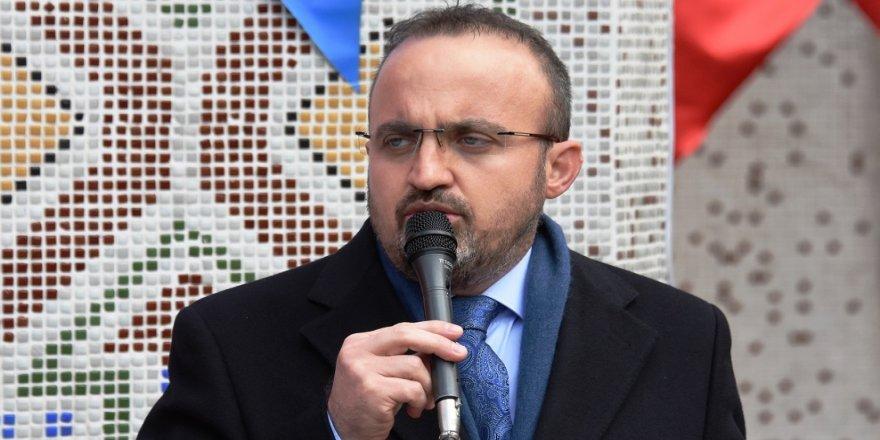 Turan: Afrin alerjisi Hollanda'yı buraya itti