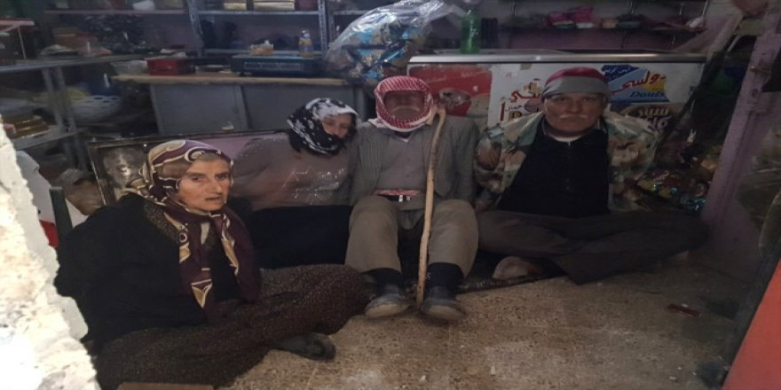 Teröristler, ihtiyar köylüleri bağlayıp mayınla tuzaklamış !