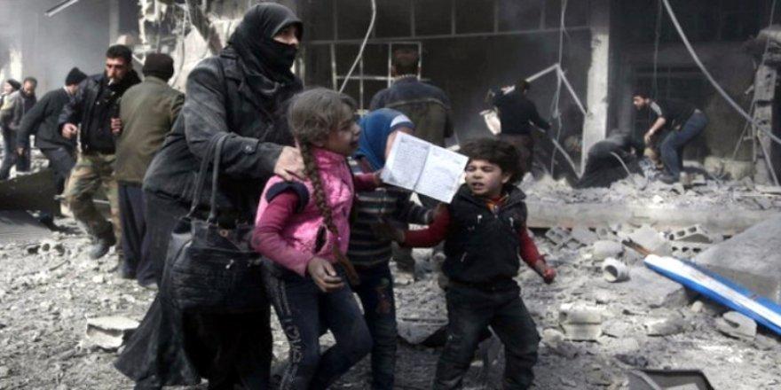 Suriyeli kız katliama böyle isyan etti !