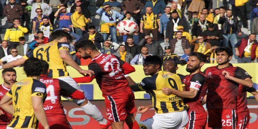 Ankaragücü 4 golle kazandı