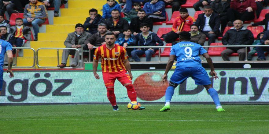 5 gollü maçta kazanan Kayserispor