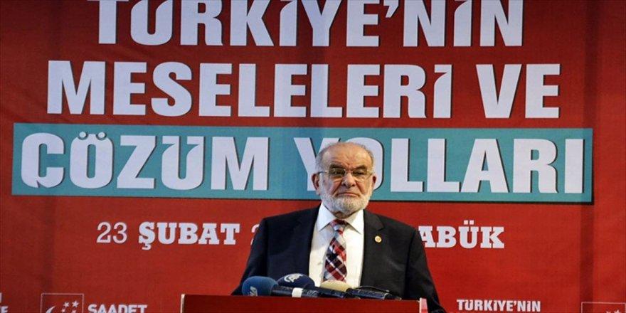 Karamollaoğlu'dan Cumhur ittifakı açıklaması