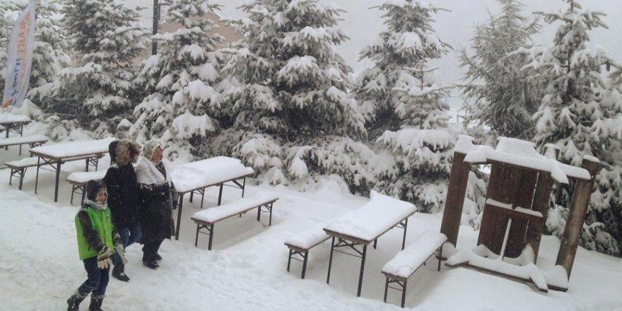 Kocaeli'de kar yağışı
