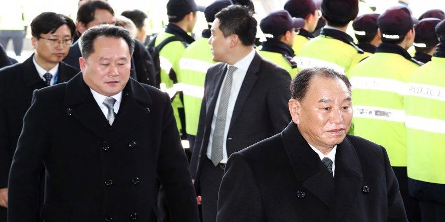 Kuzey Kore heyeti Güney Kore'ye ulaştı