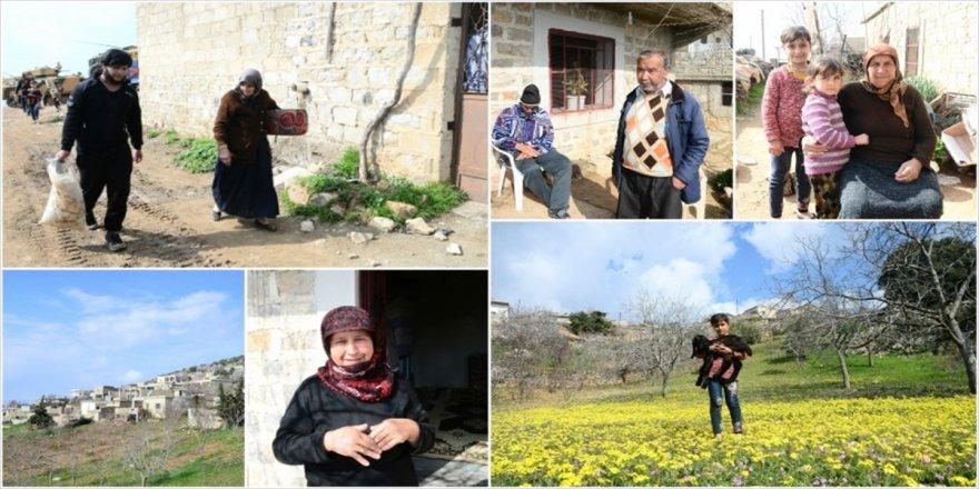 Terörden arındırılan köylerde geri dönüş sevinci