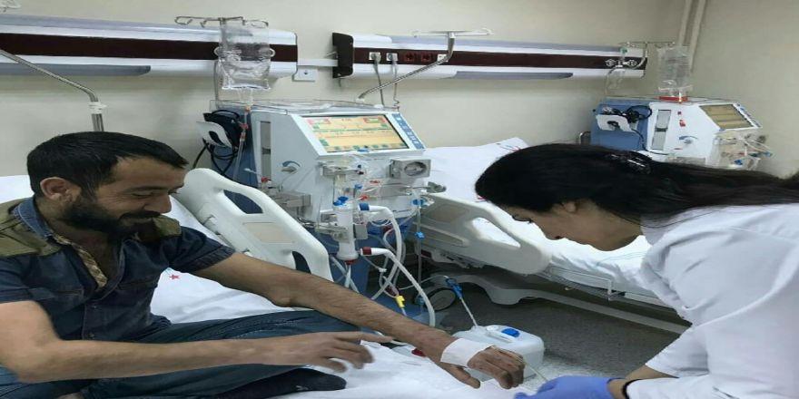 Diyaliz hastaları devlete duacı