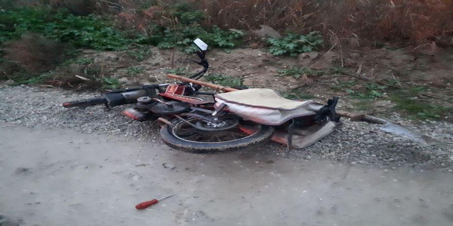 Denizli'de motosiklet kazası: 1 ölü