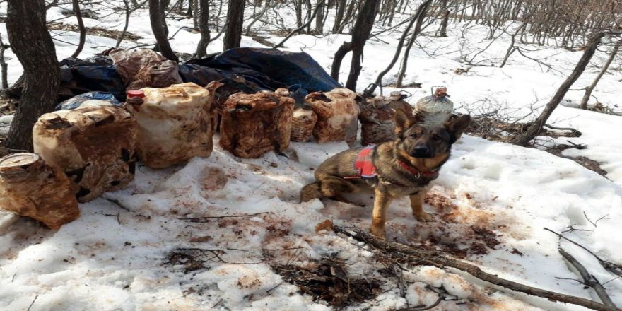 4 sığınak imha edildi, 150 kiloluk patlayıcı ele geçirildi
