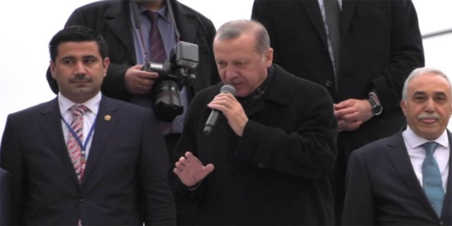 Erdoğan'dan Salih Müslim açıklaması