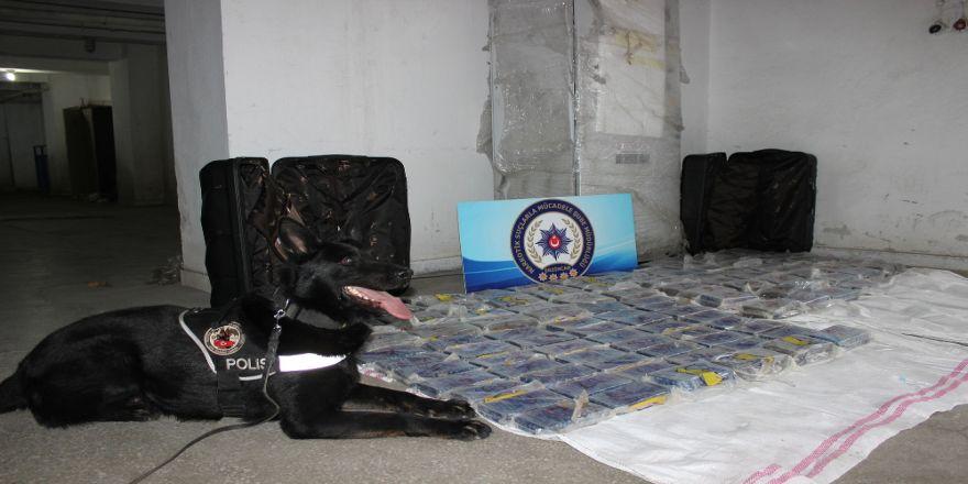20 milyon TL değerinde eroin ele geçirildi