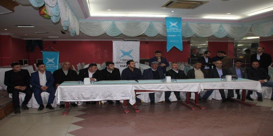 Şehit aileleri ve TÜGVA'lı gençler bir araya geldi