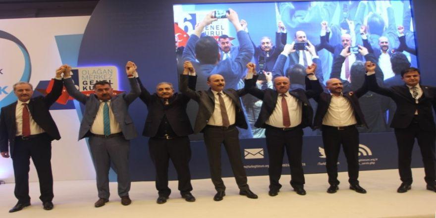 Türk Eğitim-Sen'in yeni Genel başkanı Talip Geylan oldu