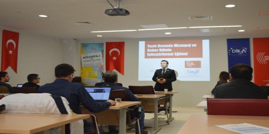 BİK'ten yerel basına eğitim