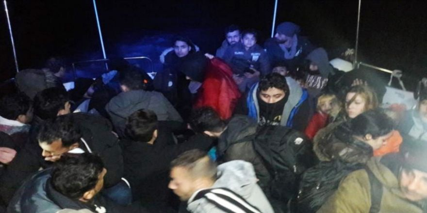 30 kaçak göçmen yakalandı