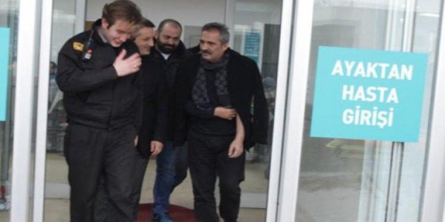Yavuz Bingöl hastaneye kaldırıldı